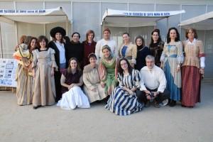 O grupo de professores vestidos a rigor